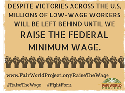 Raise the Federal Minimum Wage