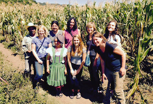 FWP visits with farmers in Chiapas