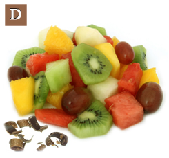 D. The fruit from the pod was added to fruit salads