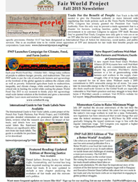 Fall 2015 Newsletter