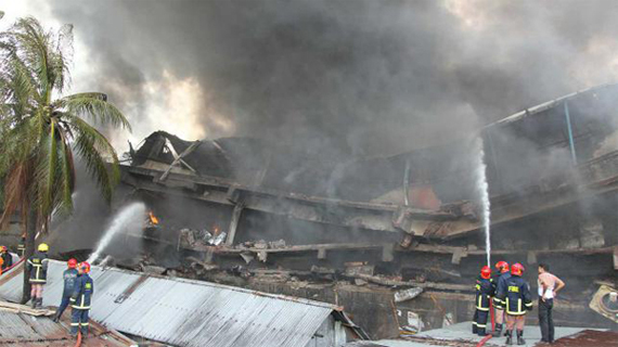 Tampaco Factory Fire - Nestle to be Accountable for the 30 Lives Claimed.