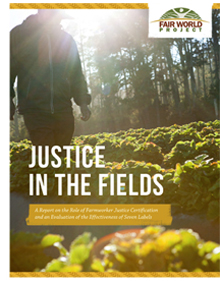 Justice in the Fields - New Report