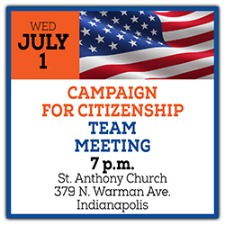 Campaign for Citizenship Team Meeting July 1
