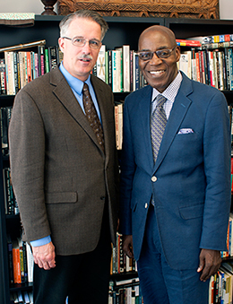 Rev. DeYoung and Rev. Morris