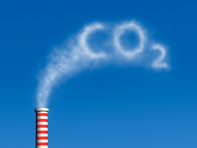 co2 smoke stack