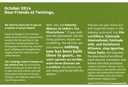 Twinings Analysis