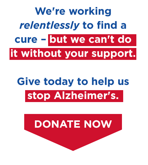 We're working relentlessly to find a cure - but we can't do it without your support.