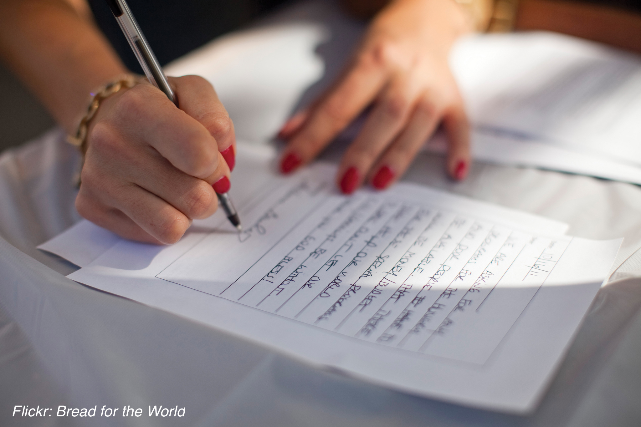 Write Letters About Your LGBTQ-Affirming Faith