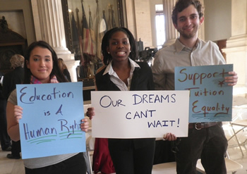 Dream Act Students Speaking Truth to Power