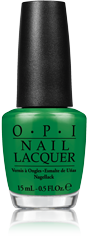OPI's Sandy Hook Green nail polish